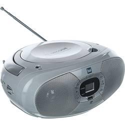 FM rádio s CD prehrávačom Dual P 390, CD, MW, UKW, USB, sivá