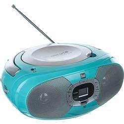 FM rádio s CD prehrávačom Dual P 390, CD, MW, UKW, USB, mätová