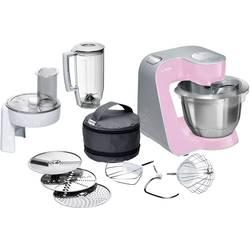 Kuchynský robot Bosch Haushalt MUM58K20, 1000 W, ružová, strieborná (matná)