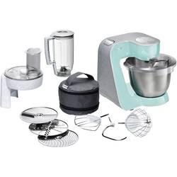 Kuchynský robot Bosch Haushalt MUM58020, 1000 W, tyrkysová, strieborná (matná)