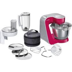 Kuchynský robot Bosch Haushalt MUM58420, 1000 W, svetločervená, strieborná (matná)
