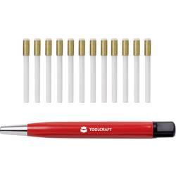 Čistiaca kefa zo sklenených vlákien / pero na gumu / guma na sklenené vlákna priemer 4 mm TOOLCRAFT TO-5864070 11 mm, 12 ks