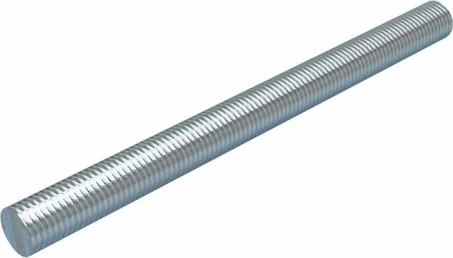 Länge 2000 mm DIN 975 8.8 M 12 x 2000 galv Gewindestangen verzinkt gal Zn