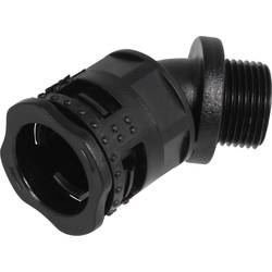 Hadicová spojka Fränkische Rohrwerke FKC-B45 #28525123 28525123, 23.1 mm, čierna, 4 ks