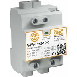 Zariadenie s prepäťovou ochranou OBO Bettermann V-PV-T1+2-1000 5094230
