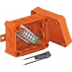 OBO Bettermann 7205633 Kabelová rozbočovací krabice E30/E90 s držákem pojistky oranžová