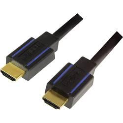 HDMI prepojovací kábel LogiLink CHB005, 3 m, čierna