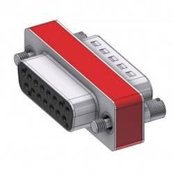Image of Deltron Connectors D-SUB Adapter D-SUB-Stecker 15pol. - D-SUB-Buchse 15pol. 1 St.