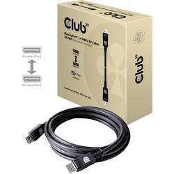 DisplayPort prepojovací kábel club3D CAC-1060, 3.00 m, strieborná