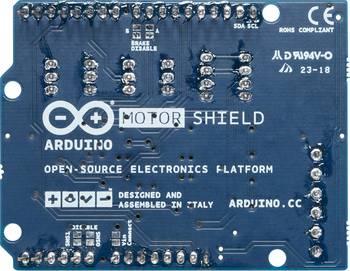 Arduino Motor Shield Rückseite