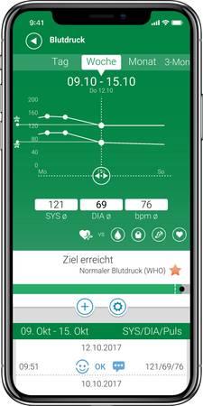 Blutdruckmessgerät mit App