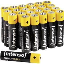 Mikrotužková batérie typu AAA alkalicko-mangánová Intenso Energy-Ultra, 1.5 V, 24 ks