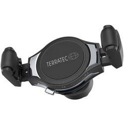 Bezdrôtová indukčná nabíjačka Terratec 285804, Qi štandard, čierna, nerezová oceľ