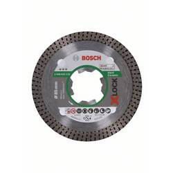Diamantový rezací kotúč X-LOCK Best for Hard Ceramic, 85 x 22,23 x 1,6 x 7 mm Bosch Accessories 2608615133, Ø 85 mm, 1 ks