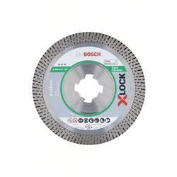 Diamantový rezací kotúč X-LOCK Best for Hard Ceramic, 115 x 22,23 x 1,6 x 10 mm Bosch Accessories 2608615134, Priemer 115 mm, 1 ks