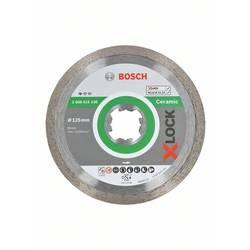 Diamantový rezací kotúč X-LOCK Standard pre keramiku, 125 x 22,23 x 1,6 x 7 mm Bosch Accessories 2608615138, Priemer 125 mm, 1 ks