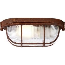 Stropné svetlo LED Brilliant Bobbi 94458/60, E27, 40 W, hrdzavá