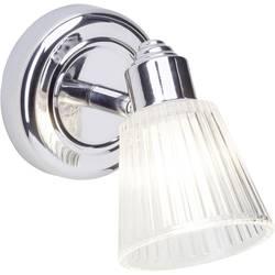 Nástenné osvetlenie do kúpeľne Brilliant Leeds 34810/15, G9, 28 W, chróm, priehľadná