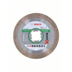 Diamantový rezací kotúč X-LOCK Best for Ceramic, 110 x 22,23 x 1,6 x 10 mm Bosch Accessories 2608615162, Ø 110 mm, 1 ks