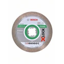 Diamantový rezací kotúč X-LOCK Best for Ceramic, 125 x 22,23 x 1,6 x 10 mm Bosch Accessories 2608615164, Priemer 125 mm, 1 ks