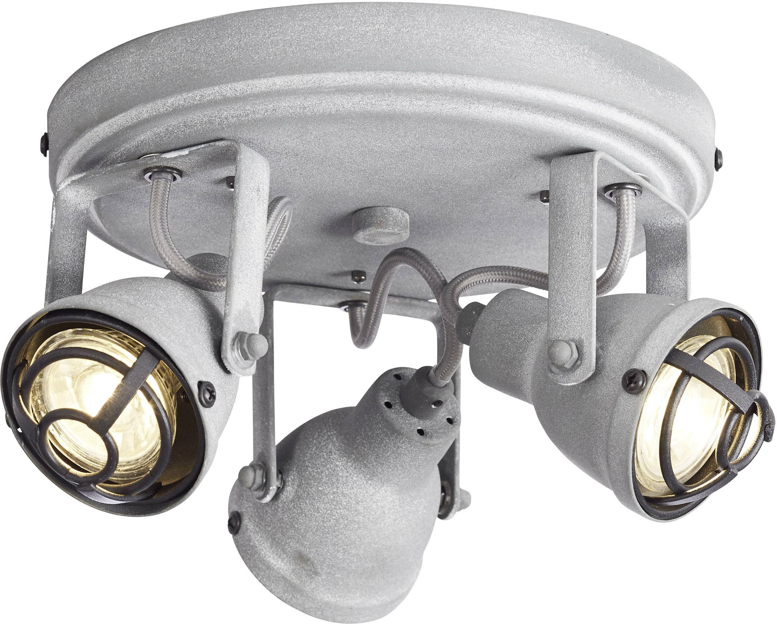 Brilliant Bente G2633470 Deckenstrahler LED GU10 15 W Beton Grau