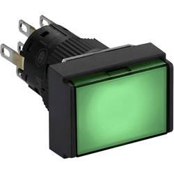 Svetelné tlačidlo Schneider Electric XB6EDW3J2P, 250 V, 3 A, čierna, zelená, 5 ks