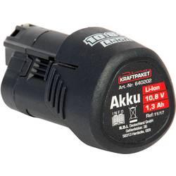 Náhradný akumulátor pre elektrické náradie, Dino KRAFTPAKET AKKU 10,8V 1,3 Ah für Akku-Poliermaschine 640241 640202, 1.3 Ah
