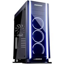 Herné puzdro midi tower Enermax Saberay RGB, čierna