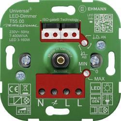 Image of Ehmann 5500x0000 Universal-Dimmer Geeignet für Leuchtmittel: LED-Lampe, Halogenlampe, Glühlampe, Filament LEDs, LED