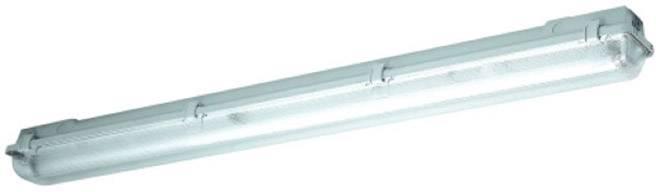 Schuch Gen2 LED Feuchtraum Wannenleuchte LED LED fest eingebaut 25 W Neutral Weiß Grau