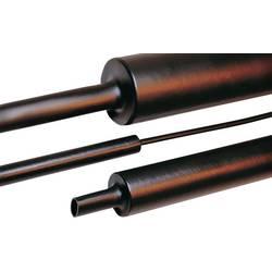 Zmršťovacia bužírka s lepidlom HellermannTyton MA47-HT 8/2-PO-X-BK 323-26000, 3.5:1, 8 mm, čierna, 1 m