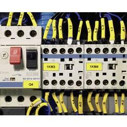Nekonečné zmršťovacie trubice TLFX 2: 1 25,4 / 12,7 PO-X biela 30m / KAR = 2 kotúče HellermannTyton TLFX254WH-PO-X-WH, 30 m