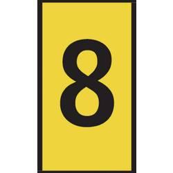 Označovací klip na káble HellermannTyton WIC0-8-PA66-YE (1000) 561-00684, žltá, 1 ks