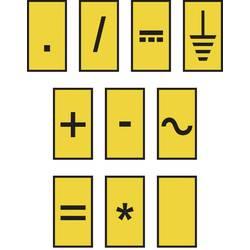 Označovací klip na káble HellermannTyton WIC0-SIGN-PA66-YE (1000) 561-00004, žltá, 1 ks