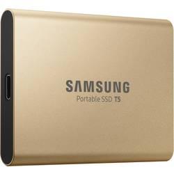 Externí SSD disk Samsung Portable T5, 1 TB, USB-C™ USB 3.1, růžovozlatá