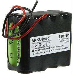 Akumulátor pro lékařské přístroje Akku Med Náhrada za originální akumulátor ETH9.6 9.6 V 700 mAh