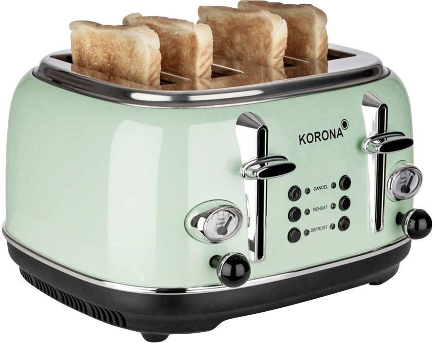 Profi Cook PC-TA 1073 Toaster mit Brötchenaufsatz Edelstahl