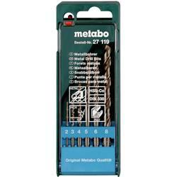 Sada špirálových vrtákov do kovu Metabo 627119000, N/A, 1 ks