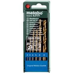Sada spirálových vrtáku do kovu Metabo 627171000, 1 ks