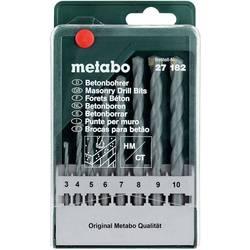 Sada vrtákov do betónu Metabo 627182000, 3 mm, 4 mm, 5 mm, 6 mm, 7 mm, 8 mm, 9 mm, 10 mm, N/A, 8 ks