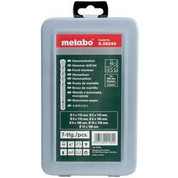 Sada vrtákov do betónu Metabo 626244000, 5 mm, 6 mm, 6 mm, 8 mm, 8 mm, 10 mm, 12 mm, N/A, 7 ks