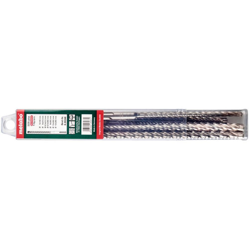 Jeu de forets pour béton 7 pièces Metabo 626246000 5 mm, 6 mm, 6.5 mm, 8 mm, 10 mm, 12 mm 7 pc(s)
