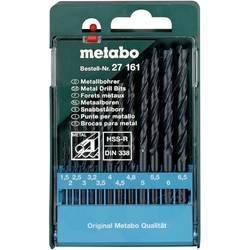Sada špirálových vrtákov do kovu Metabo 627161000, N/A, 13 ks