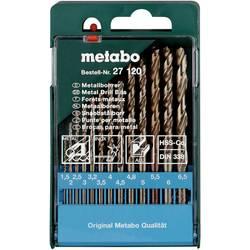 Sada špirálových vrtákov do kovu Metabo 627120000, N/A, 1 ks