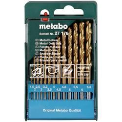Sada spirálových vrtáku do kovu Metabo 627176000, 1 ks