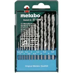 Sada špirálových vrtákov do kovu Metabo 627096000, N/A, 1 ks