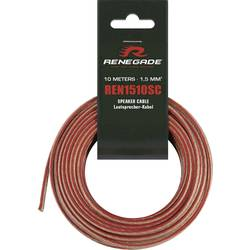 Cinch kábel Renegade REN1510SC, 10 m, priehľadná