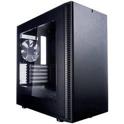 PC skrinka mini tower Fractal Design Define Mini C, čierna, biela