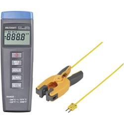 Teplomer VOLTCRAFT K101 + TP 300 -200 do +1370 °C, Typ senzora K, Kalibrované podľa: ISO