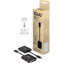 USB adaptér club3D CAC-1508, čierna